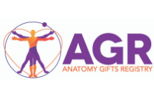 anatomy gift registry logo – square